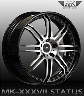 MK Wheels MK-XXXVII Status 9.5x22 5x130 71.6 ET40
