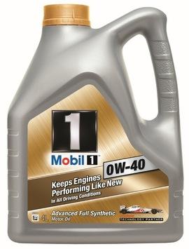 Mobil 1 0W-40 4lt Масло моторное