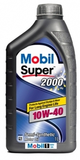 Mobil SUPER 2000 X1 10W-40 1lt Масло моторное