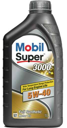 Mobil SUPER 3000 X1 5W-40 1lt Масло моторное