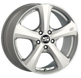 7x16 5x112 73.1 ET35 MSW 19 Full Silver