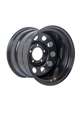 12x17 5x150 113 ET-55 Off-Road Wheels Тойота Ленд Крузер 100 черный Вид 1
