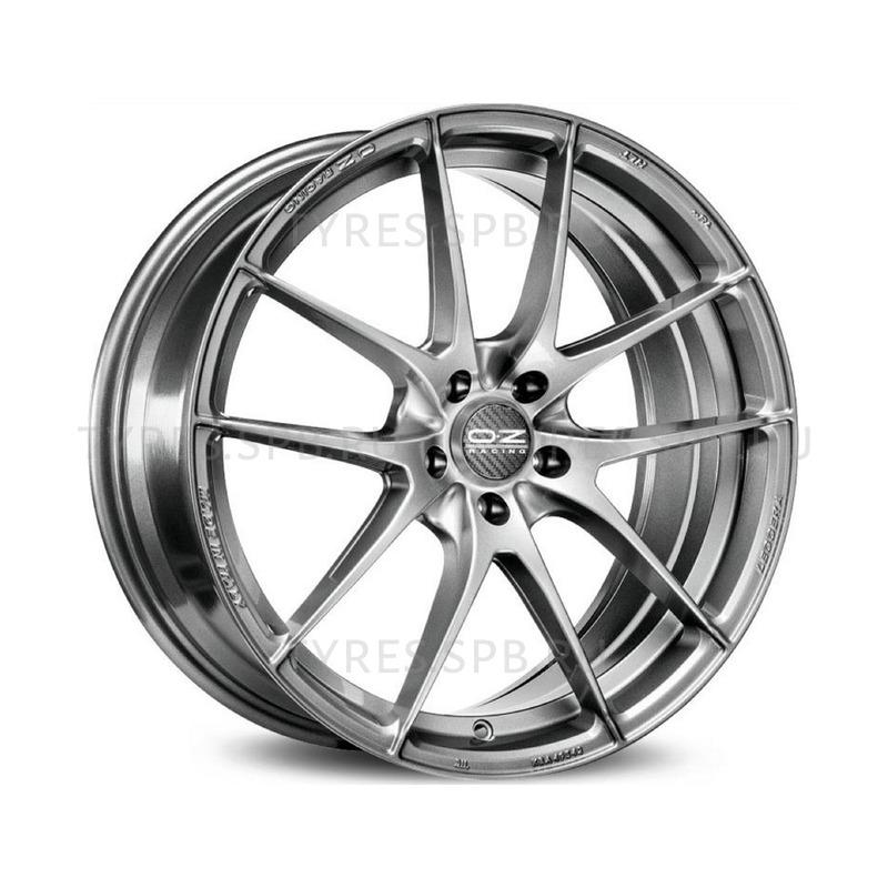 OZ Leggera HLT grigio corsa bright 8x18 5x114.3 75 ET45