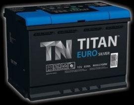 Titan Euro silver 6СТ-60.0 600A (низкая)
