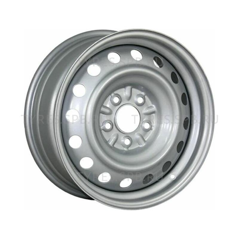 5x13 4x100 54.1 ET46 TREBL 4375 Silver