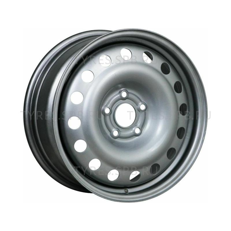 6x15 5x108 58.1 ET35 TREBL 64D35K Silver