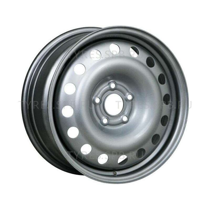 6x15 5x110 65.1 ET35  TREBL 64L35F silver