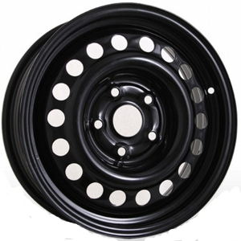 5.5x15 5x160 65.1 ET60  TREBL 8505 Black