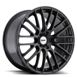 TSW Max matte black 8.5x18 5x120 76 ET30
