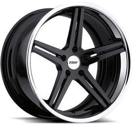 TSW Mirabeau gloss black 8x18 5x120 76 ET35