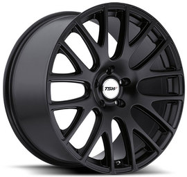 TSW Mugello matte black 8x18 5x112 72 ET32