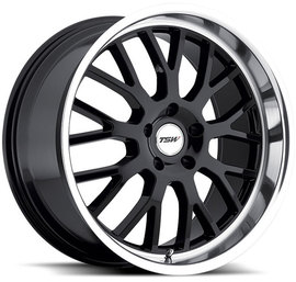 TSW Tremblant gloss black 8x17 5x112 72 ET45