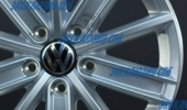 Replica (LS) VW33 6.5x16 5x112 57.1 ET42 3D Вид 2