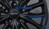 Alutec Toxic matt graphite 8x17 5x114.3 70.1 ET35 3D Вид 2