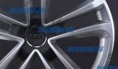 MAK Invidia hyper silver 8x18 5x112 57.1 ET50 3D Вид 2