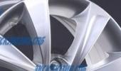 Replica (LS) RN43 6x15 4x100 60.1 ET50 3D Вид 3