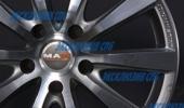MAK Iguan graphite mirror 7x16 5x100 72 ET35 3D Вид 2