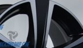 MAK Fuoco 5 ice black 8x17 5x114.3 76 ET40 3D Вид 3