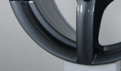 Alutec Grip graphit 7.5x17 5x108 70.1 ET28 3D Вид 1