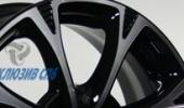 КиК Блюз алмаз черный 6x15 4x100 54.1 ET48 3D Вид 3