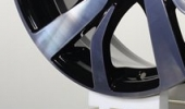 КиК Палермо алмаз черный 6x15 5x105 56.6 ET39 3D Вид 1