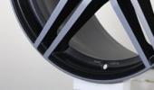 AEZ Portofino dark 9.5x19 5x112 66.6 ET25 3D Вид 1