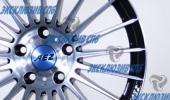 AEZ Valencia dark 8x18 5x108 70.1 ET45 3D Вид 2