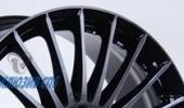 AEZ Valencia dark 8x18 5x108 70.1 ET45 3D Вид 3